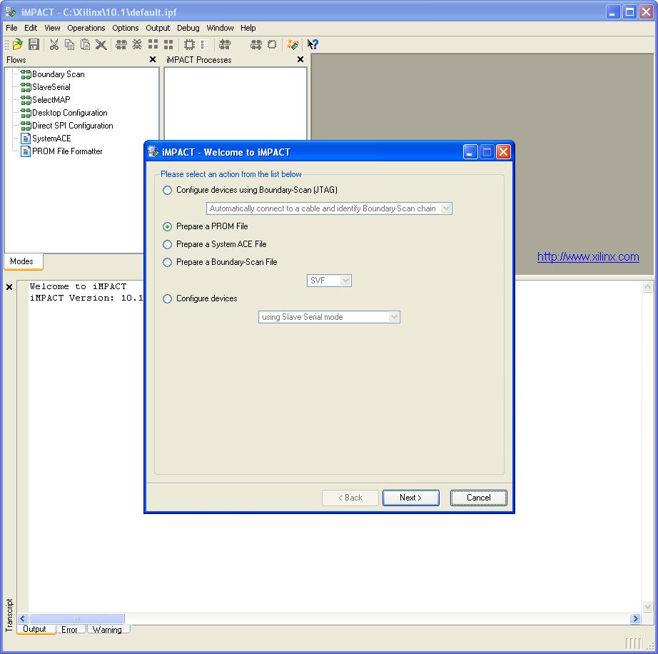 Generating a  MCS File